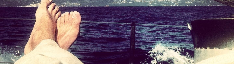sailing the coast of albania on 'lady e'